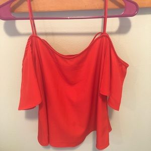 WORN ONCE off the shoulder top